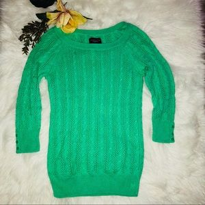 🌿GORGEOUS MINTY GREEN LIGHT SWEATER 🌿